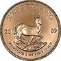 2009 1 oz Gold Coin Krugerrand Bullion 22011