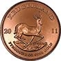 2011 1 oz Gold Coin Krugerrand Bullion 22085