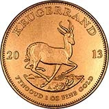 2013 1 oz Gold Coin Krugerrand Bullion 21985