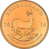 2014 1 oz Gold Coin Krugerrand Bullion 25041