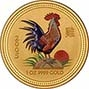 0.5 oz Gold Coin Lunar Calender Coloured Coloured Best Value Newly Minted Bullion 20666