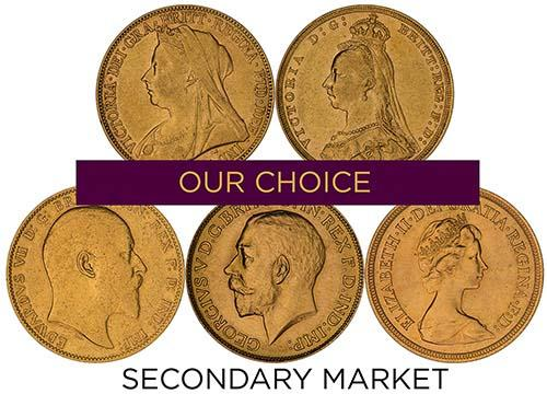 Bullion Sovereign Best Value - Secondary Market 23938