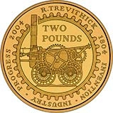 2004 UK Coin £2 Gold Proof Locomotive 24731