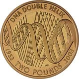 2003 UK Coin £2 Gold Proof DNA 21017