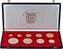 1972 Jersey BU Silver Wedding Coin Set - 9 Coins 21663