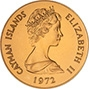 1972 Cayman Island Silver Wedding $25 Gold Proof Coin 23735