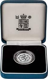 1994 UK Coin £1 Silver Proof Piedfort Scottish Lion 24623