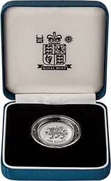 2000 UK Coin £1 Silver Proof Piedfort Welsh Dragon 25105