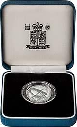 2007 UK Coin £1 Silver Proof Piedfort Millennium Bridge 20485