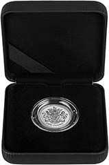2008 UK Coin £1 Silver Proof Piedfort Royal Coat of Arms 25158