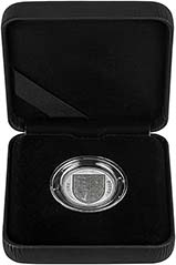 2009 UK Coin £1 Silver Proof Piedfort Shield of Arms 24754