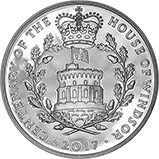 2017 UK Coin £5 / Crown Silver Proof House of Windsor 21992