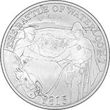 2015 UK Coin £5 / Crown Silver Proof 200th Anniversary of the Battle of Waterloo 24516