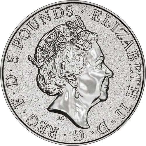 2017 2 oz Silver Monster Box Red Dragon Bullion - 200 Coins 24218