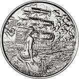 2 oz Silver Round Pirate Bullion Siren 24711