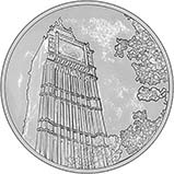 2015 UK Coin £100 BU Big Ben 24670