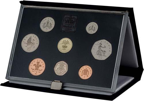 1990 Whole Coin Set UK Annual Proof - Standard