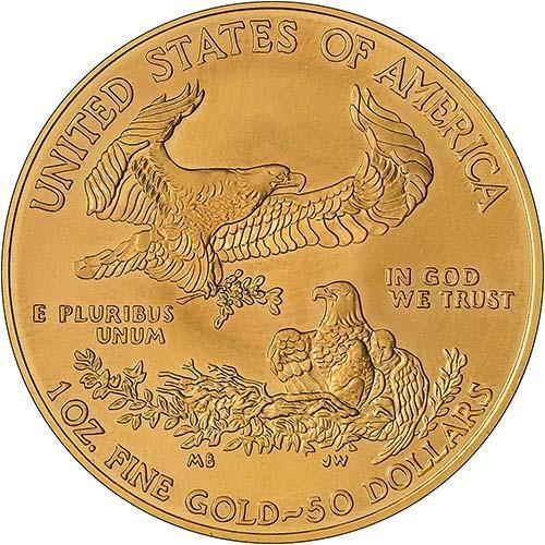 2017 1 oz Gold Coin Eagle Bullion 23466