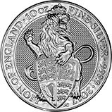 2017 10 oz Silver Coin Queen's Beasts Bullion Lion 24248