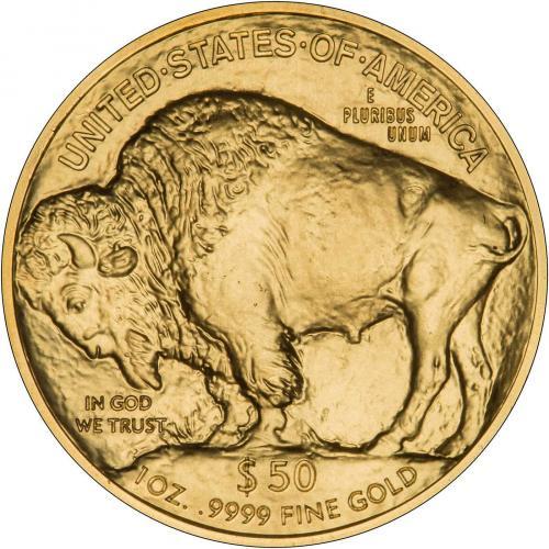 2016 1 oz Gold United States Buffalo Bullion 35