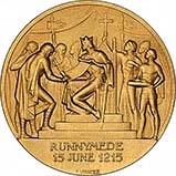 1965 Gold Medallion Magna Carta 22856