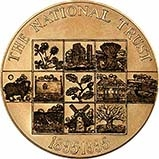 1995 Gold Medallion 100th Anniversary National Trust 23039