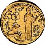 Gold Medallion European Parliament 21109