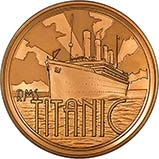 1997 Gold Medallion RMS Titanic 24125