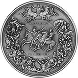 2015 Silver Medallion Pistrucci Waterloo 24647