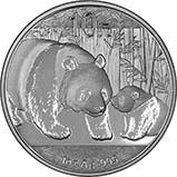2011 1 oz Silver Coin Panda Bullion 21071