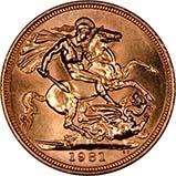 1981 Gold Sovereign Elizabeth II Proof w/o Box w/o Cert 22058