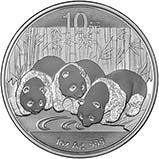 2013 1 oz   Silver Coin Panda Bullion 24994