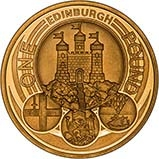 2011   UK Coin £1 Gold Proof Edinburgh 24285