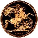 1983 Gold Sovereign Elizabeth II Proof w/o Box w/o Cert 21981