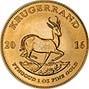 2016 1 oz Gold Coin Krugerrand Bullion 25196