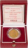 1989 Gold Full Sovereign Elizabeth II Proof 24241