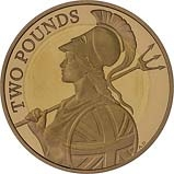 2015 UK Coin £2 Gold Proof Definitive Britannia 24510