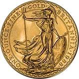 1988 1 oz Gold Coin Britannia Bullion 24129