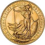 1989 1 oz Gold Coin Britannia Bullion 22317