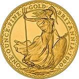 1990 1 oz Gold Coin Britannia Bullion 25050