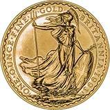 1993 1 oz Gold Coin Britannia Bullion 24805