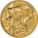 2003 1 oz Gold Coin Britannia Bullion 24557