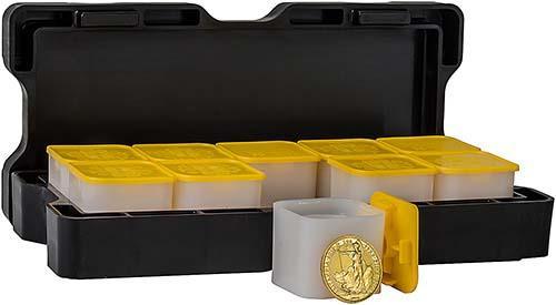 1 oz Gold Monster Box Britannia Bullion - 100 Coins 24775
