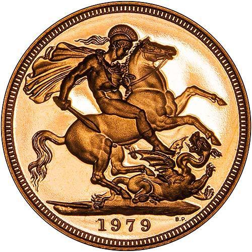 1979 Gold Sovereign Elizabeth II Proof