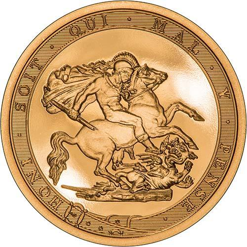 2017 Gold Sovereign BU 200th Anniversary - Strike on the Day 21868