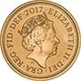 2017 Gold Sovereign BU 200th Anniversary - Strike on the Day 21870