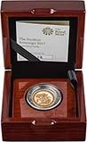2017 Gold Sovereign Piedfort Proof 200th Anniversary Design Presentation Box
