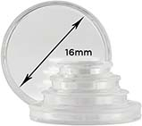 Storage & Accessories Coin Capsule 16mm 23009