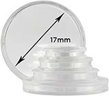 Storage & Accessories Coin Capsule 17mm 22454