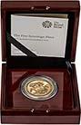 2017 UK Coin £5 / Crown Gold BU 200th Anniversary Sovereign Design 25265